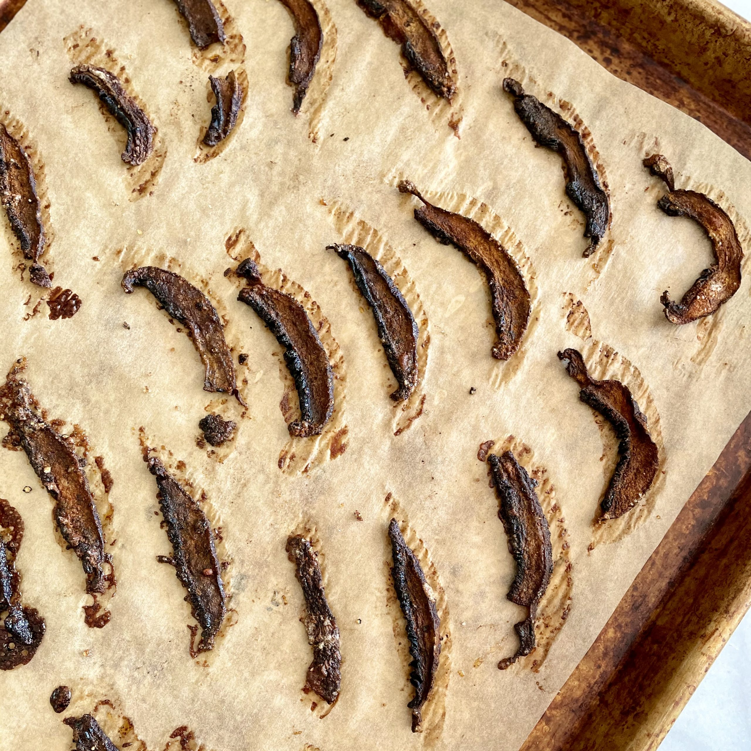 Plant-Based Portabella Bacon Strips